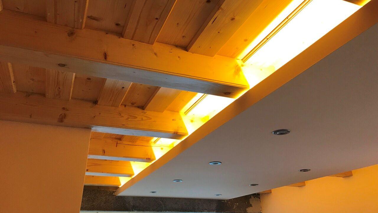 Rejtett LED szalag világítás