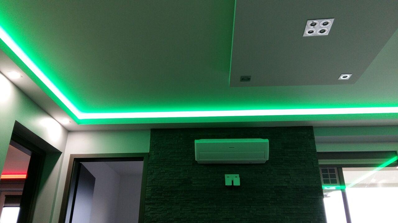 LED szalag zöld