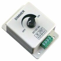 Egyszínű LED szalag vezérlő 96W dimmer