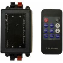 Egyszínű LED szalag vezérlő 96W dimmer 11 gombos rádiós