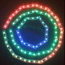 Magic, futófény led szalag 48 led/m, RGB, 366 program futtatható!