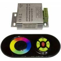 216W rádiós érintős RGB LED szalag vezérlő