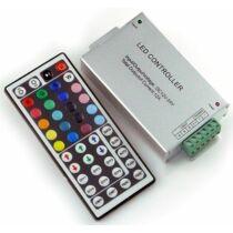 RGB LED szalag vezérlő 144W infrás 44 gombos