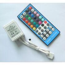 RGBW LED szalag vezérlő 96W infrás 40 gombos