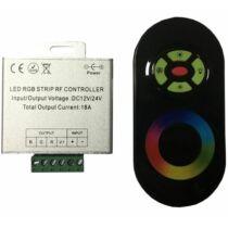 RGB LED szalag vezérlő 216W rádiós érintős egyedi kódos