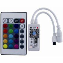 RGBW LED szalag vezérlő 144W univerzális Wifi / zene / időzítés
