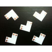 8 mm LED szalag sarokelem