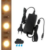 5m kültéri melegfehér LED szalag + tápegység szettben!