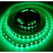 Beltéri zöld 60LED/m 5050 chip 4.8 W 120 lm/m LED szalag