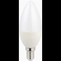 Dimmelhető gyertya E14 LED izzó középfehér 6W 600 lumen