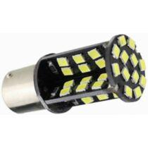 BA15S Canbus helyzetjelző/index/tolató 60 LED 5050 chip sárga 5 W 450 lumen autós LED