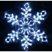 Karácsonyi figura hópihe 61x55 cm 144 db hideg fehér LED