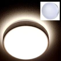 Kör alakú LED UFO lámpa melegfehér 24W 1140 lumen