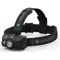 LedLenser MH8 outdoor tölthető LED fejlámpa 600lm/200m, RGB, 1xLi-ion, fekete