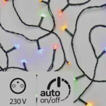 Karácsonyi LED fényfüzér, rizsszem, IP44, kültérre is! 100 db színes LED