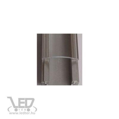 Alusín szett IP65 vízálló átlátszó takaróval 8-10 mm-es led szalaghoz! 2m sín+2 m átlátszó takaró+ 4 db rögzítő+ 2 db végzáró.