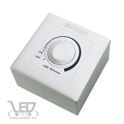 Fényerő szabályozható kapcsoló LED panel driverhez, 53W, 1200mA, 27-42V. Csak LLPDIMMERDRIVER53W-hez