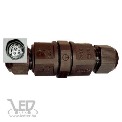 IP67 kötődoboz henger 20A maximum 3x2,5mm vezetékhez