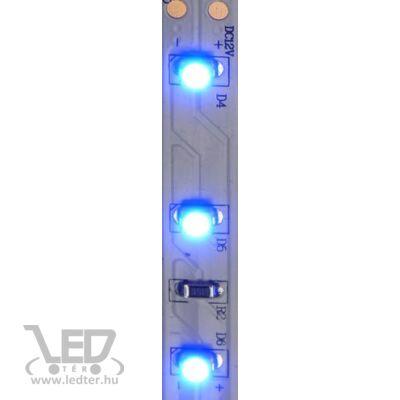 Kék 60 LED/m 2835 chip 4,8W 120 lumen/m LED szalag