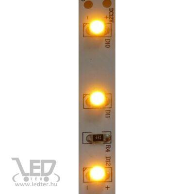 Sárga 60 LED/m 3528 chip 4,8W 40 lumen/m LED szalag