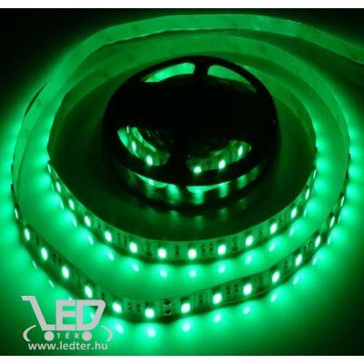 Zöld 60 LED/m 5050 chip 4,8W 120 lumen/m LED szalag