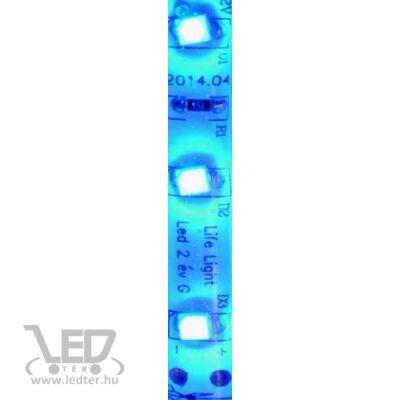 Kék 60 LED/m 2835 chip 4,8W 120 lumen/m vízálló LED szalag