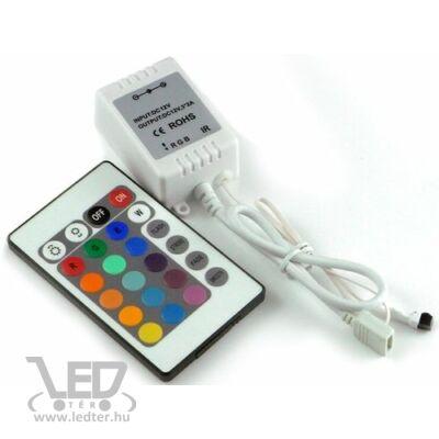 72W infrás 24 gombos LED szalag vezérlő
