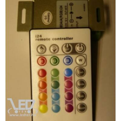 144W infrás 24 gombos LED szalag vezérlő