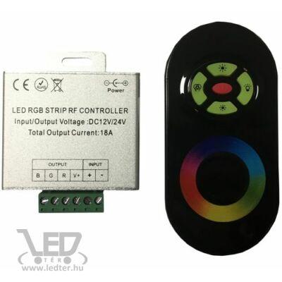 216W rádiós érintős egyedi kódos RGB LED szalag vezérlő
