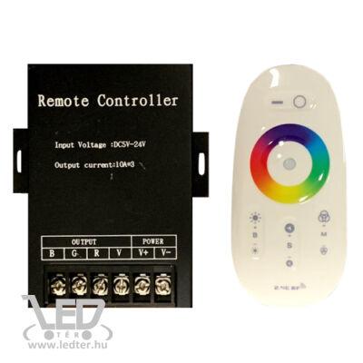 360W RGB led szalag vezérlő, rádiós, érintős