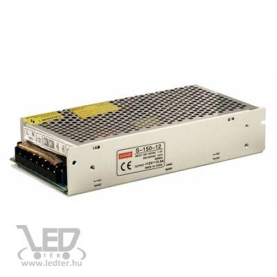 150W 12VDC LED fémházas tápegység 12,5A