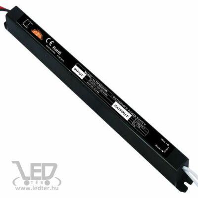 30W 12VDC 2,5A fémházas IP65 vízálló LED tápegység