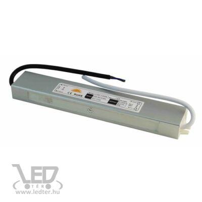 50W 12VDC 4,2A fémházas IP65 vízálló LED tápegység