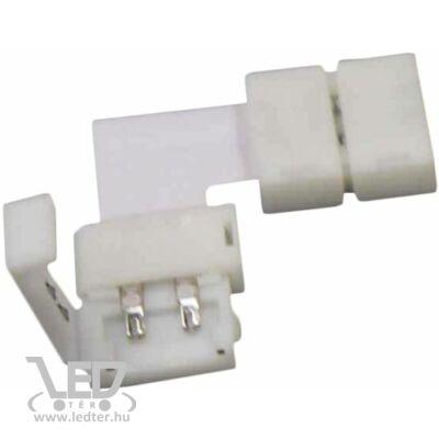 8 mm forrasztás nélküli LED szalag sarokelem