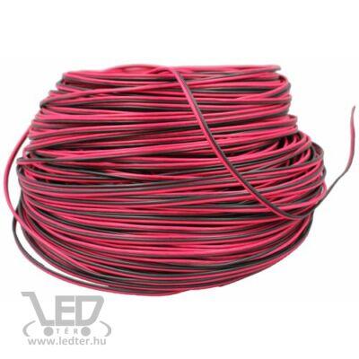 2 eres piros-fekete 2*0,20 mm2 LED szalag vezeték
