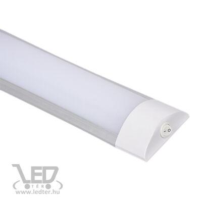 Led bútorvilágító lámpa kapcsolóval, 30 cm, 10W, 760 lumen, 4000 kelvin, közép fehér, IP44