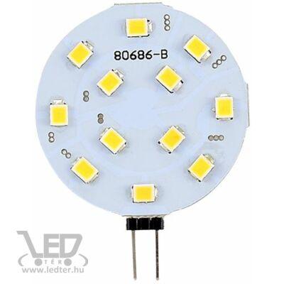 Melegfehér-2700K 2,4W=20W 180 lumen Dimmelhető G4 LED izzó