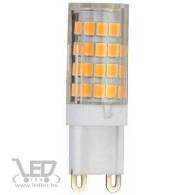 Melegfehér-2700K 3,5W=30W 340 lumen Kapszula G9 LED izzó