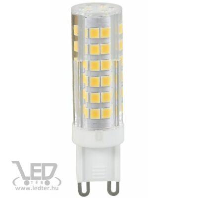 Melegfehér-2700K 6W=60W 630 lumen Kapszula G9 LED izzó
