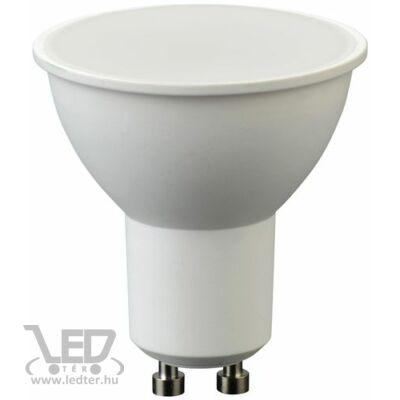 Melegfehér-2700K 7W=60W 620 lumen GU10 tej burás LED izzó
