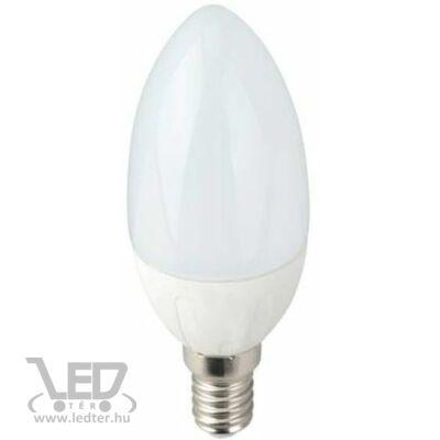 Melegfehér-2700K 5W=50W 510 lumen Gyertya E14 LED izzó