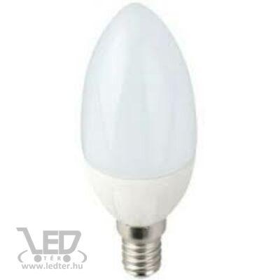 Melegfehér-2700K 5W=40W 480 lumen Dimmelhető E14 LED izzó