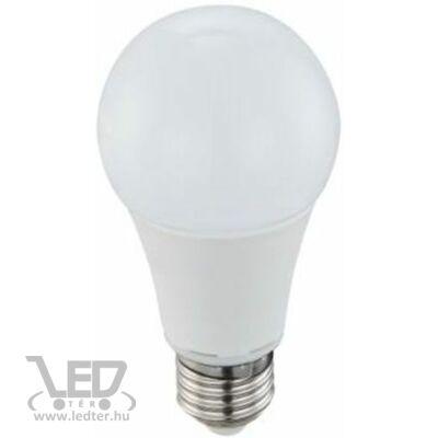 Melegfehér-2700K 12W=100W 1260 lumen Normál körte E27 LED izzó