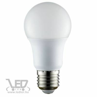 Melegfehér-2700K 6W=60W 610 lumen Normál körte E27 LED izzó
