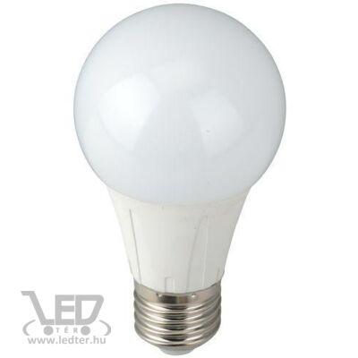 Melegfehér-2700K 8W=60W 800 lumen Normál körte E27 LED izzó