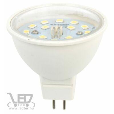 Melegfehér-2700K 7W=70W 770 lumen MR16 átlátszó burás LED izzó
