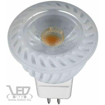 Melegfehér-2700K 5W=40W 480 lumen MR16 COB LED reflektor izzó