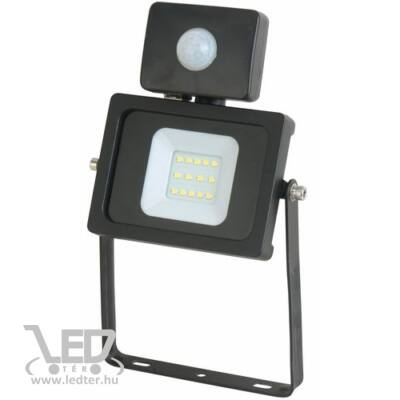 Melegfehér-3000K 10W=100W 820 lumen Mozgásérzékelős LED reflektor