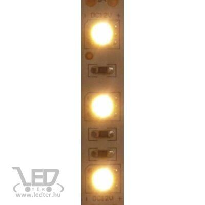 Melegfehér 120 LED/m 2835 chip 9,3W 960 lumen/m LED szalag