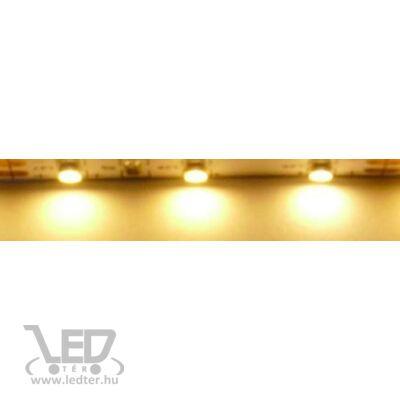 Melegfehér 60 LED/m 2835 chip 4,8W 480 lumen/m LED szalag